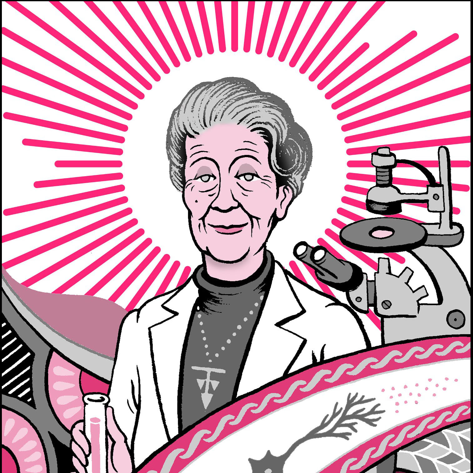 Five facts about Rita Levi-Montalcini, who figured out how neurons grow